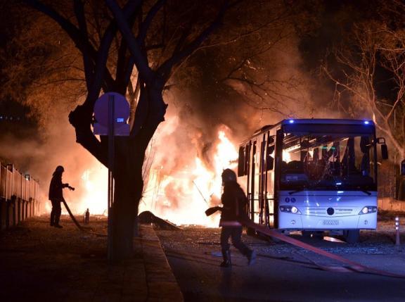 the bombings in turkey