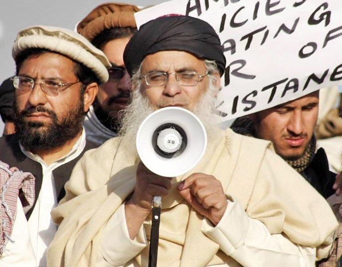 a file photo of lal masjid cleric maulana abdul aziz photo online