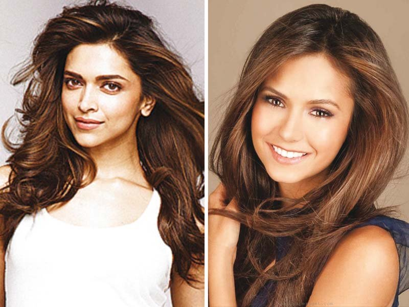 padukone met dobrev this week along with other cast members of the film photos file