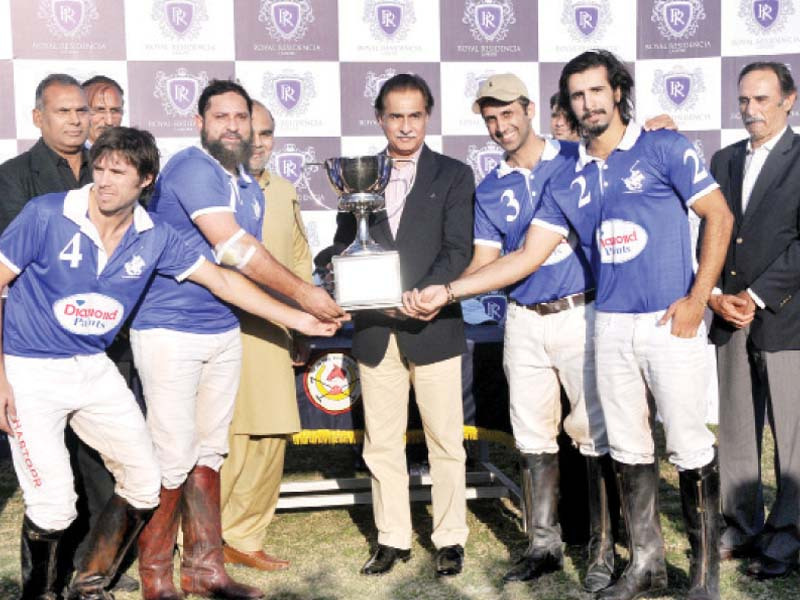 epic contest diamond paints win royal residencia aibak polo cup