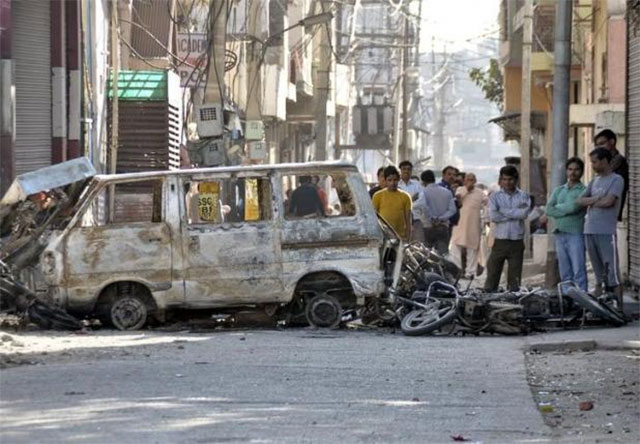 traders count cost of jat reservation riots 19 dead