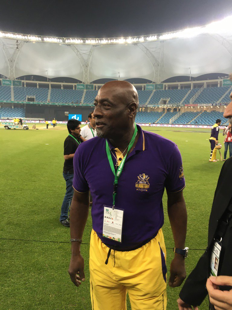 quetta gladiators are successful because they are like a family says viv richards