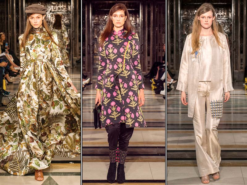 pakistani designers impress at london fashion week