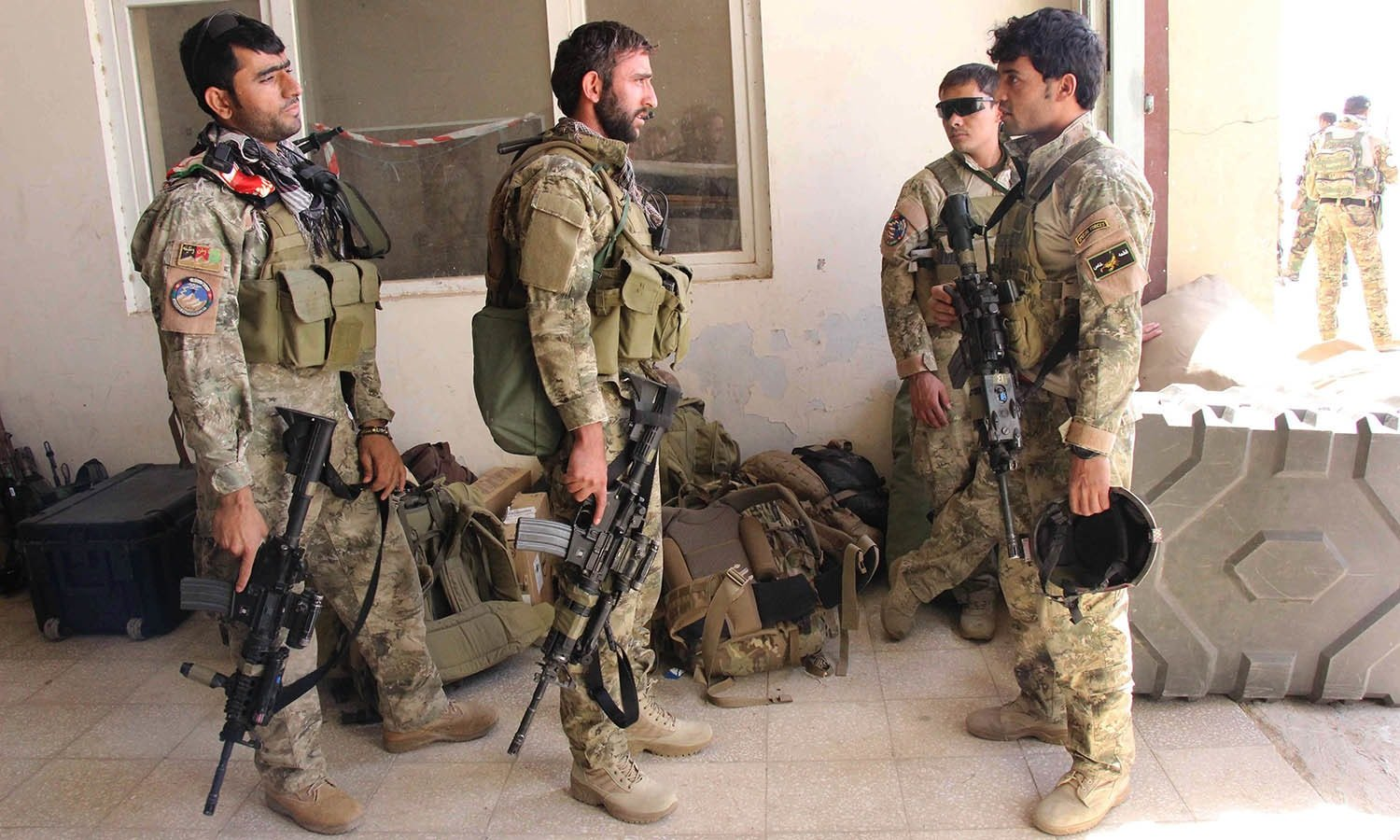 a file photo of afghan military photo afp