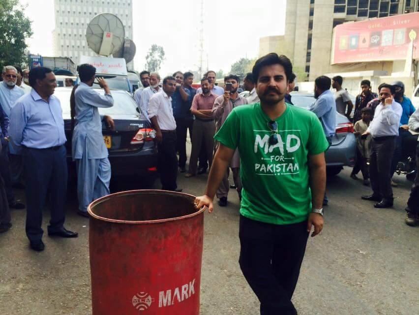 fixit campaigner alamgir arrested in karachi
