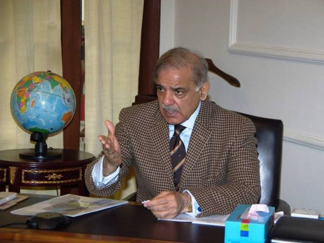 chief minister muhammad shahbaz sharif photo facebook