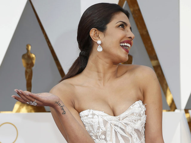 priyanka second most searched oscar celebrity
