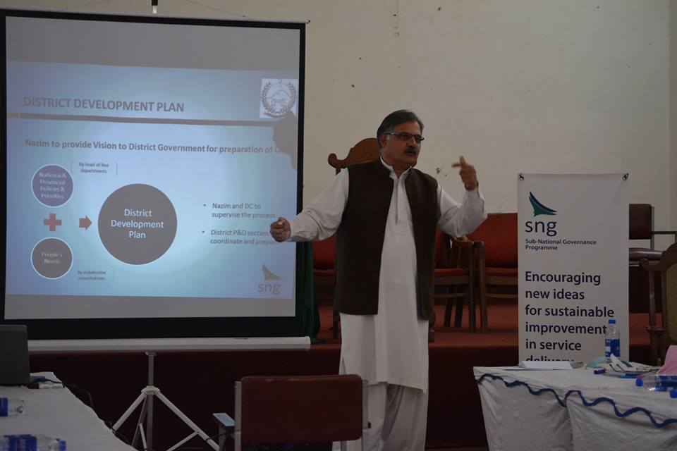 planning and budgeting 57 lg members trained in karak haripur