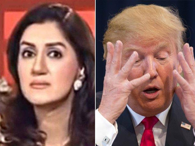 battle of the bullies it s ayesha sana vs donald trump