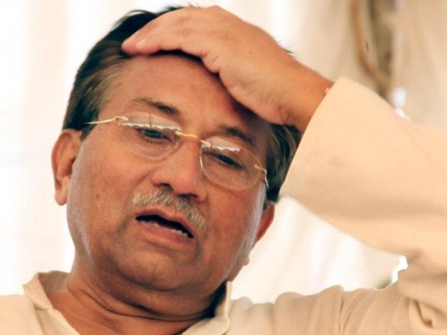 musharraf who has been summoned by the special court on march 31 to record his statement in the high treason case photo inp