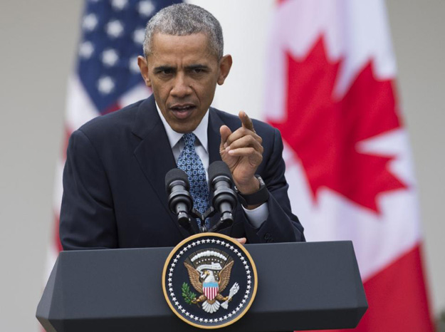 us president barack obama said quot what i 039 m not going to do is to validate some notion that the republican crackup that 039 s been taking place is a consequence of actions that i 039 ve taken quot photo afp