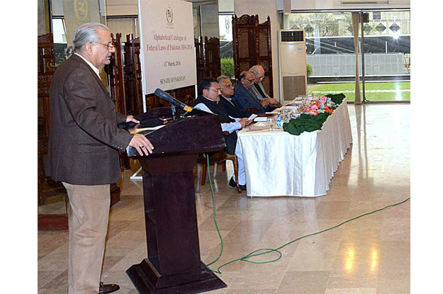 rabbani envisions stronger role for upper house