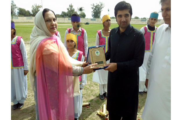 competitive spirit u 23 games kick off in di khan