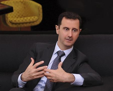 syrian president bashar al assad photo reuters