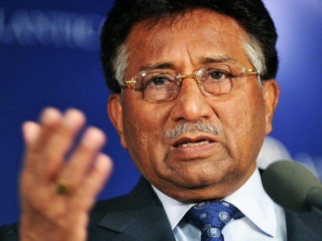 Former president retd General Pervez Musharraf. PHOTO: AFP