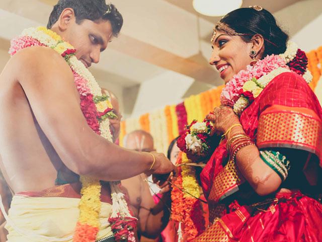 indian bride belts heavy metal at her wedding
