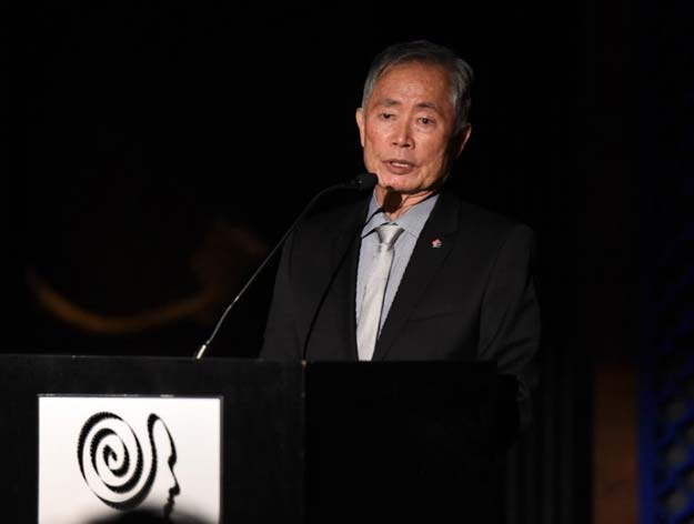 george takei ang lee protest racist oscar jokes