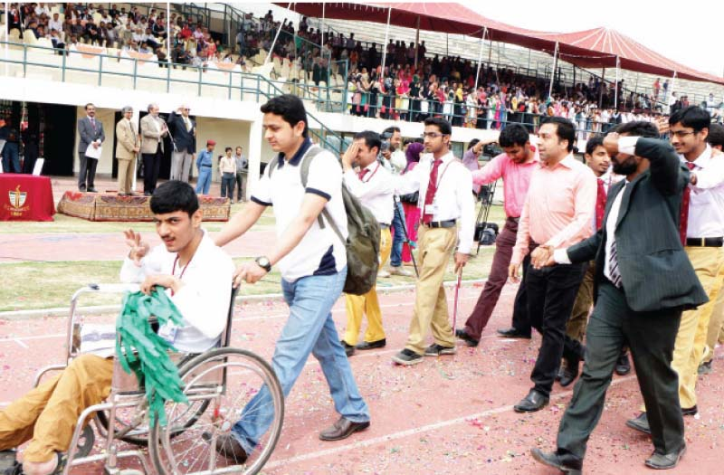 gcu sports physically challenged students shine at opening ceremony