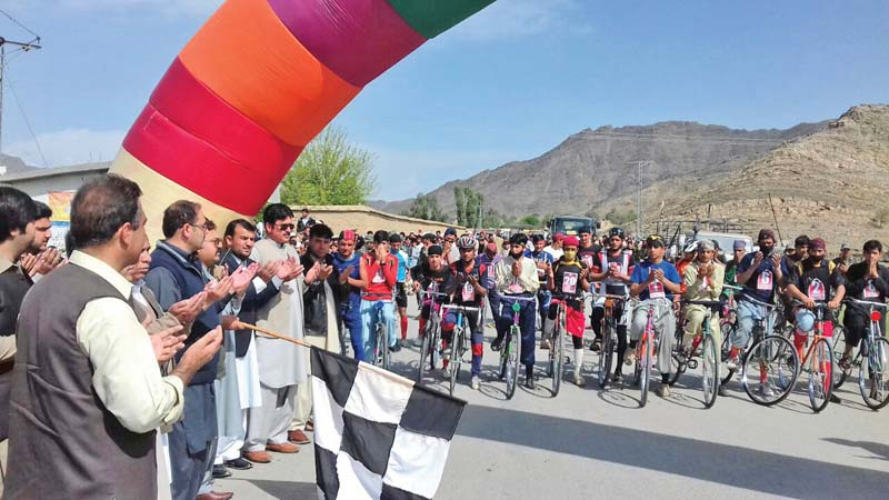 quantum of solace sports festival brings relief to mohmand residents