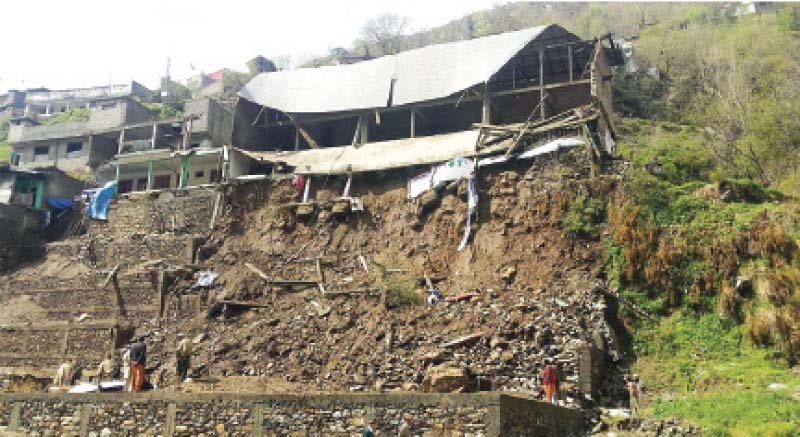 at least 23 dead 34 injured as rain ravages k p