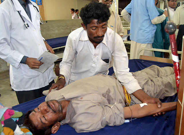 Most victims belong to Hindu community; Sindh govt orders inquiry. PHOTO: REUTERS
