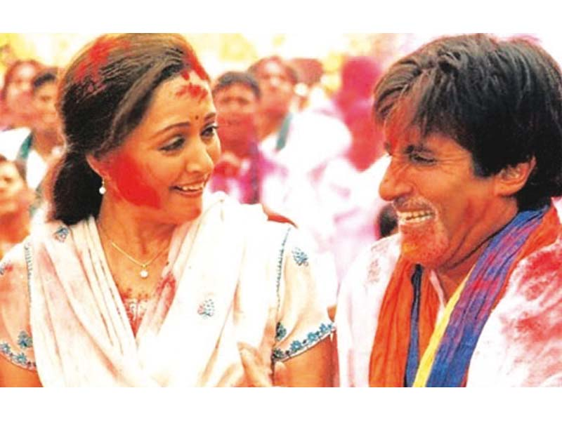 baghban s holi khele is one of the most popular holi songs of bollywood photo file