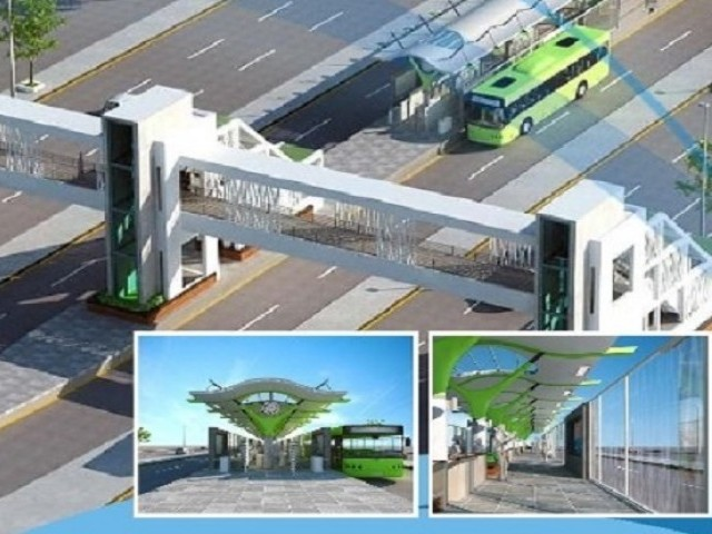 Decades-old structure to be demolished in June to make way for Green Line BRT. PHOTO: EMC.COM.PK
