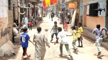 lyari s young boys and girls see a way out