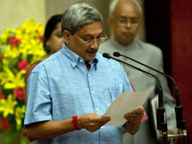 indian defence minister manohar parrikar photo afp