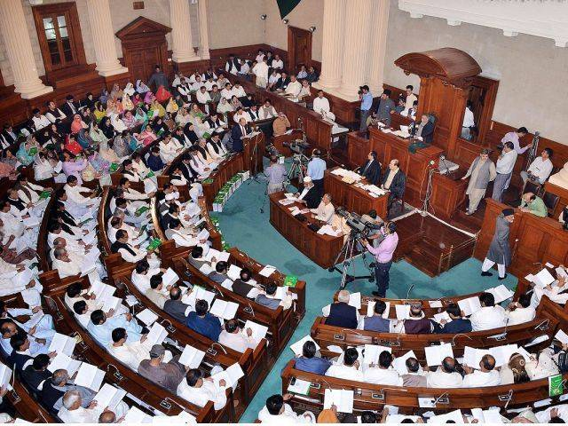 press gallery pml n decides to attend assembly session