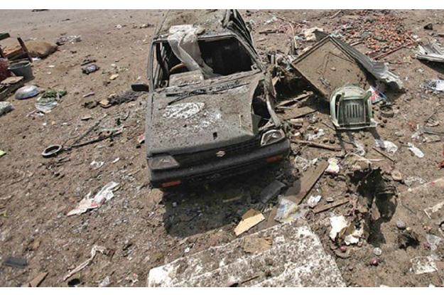 five dead in lakki marwat blast