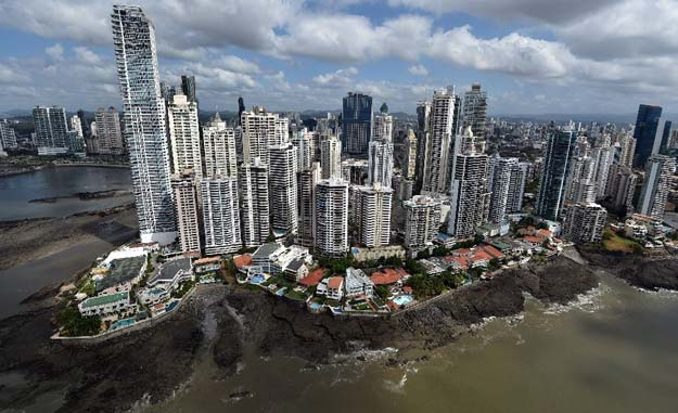 panama a small nation of just four million people has a booming financial services sector that including revenue from its famous canal accounts for nearly 80 percent of gross domestic product photo afp