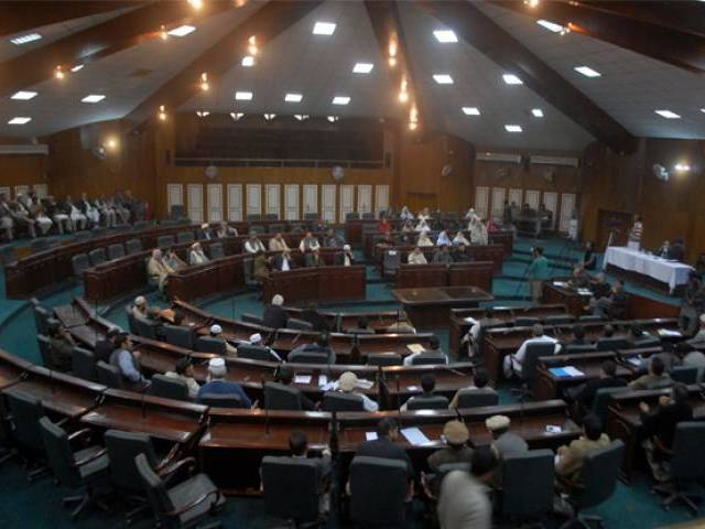 peshawar district assembly in session photo ppi