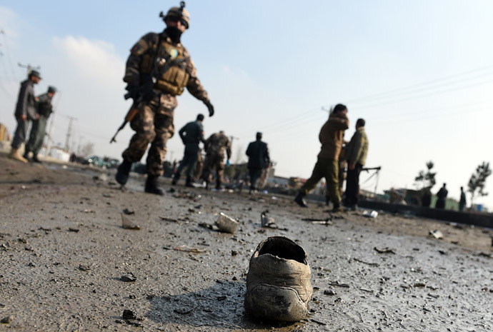 a file photo of an attack in afghanistan photo afp