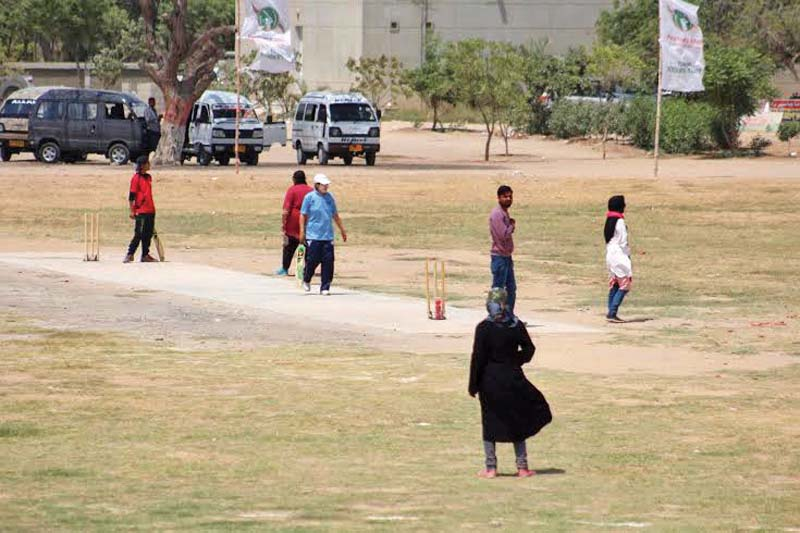 the idea to include girls in the tournament was given by muttahida qaumi movement chief altaf hussain claimed the tournament s main organiser photo courtesy apmso