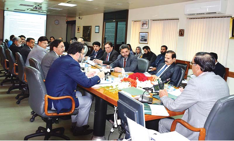 nab chief chaudhary and others at the meeting photo express
