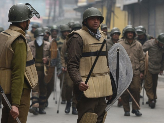 a file photo of indian troops in kashmir photo afp