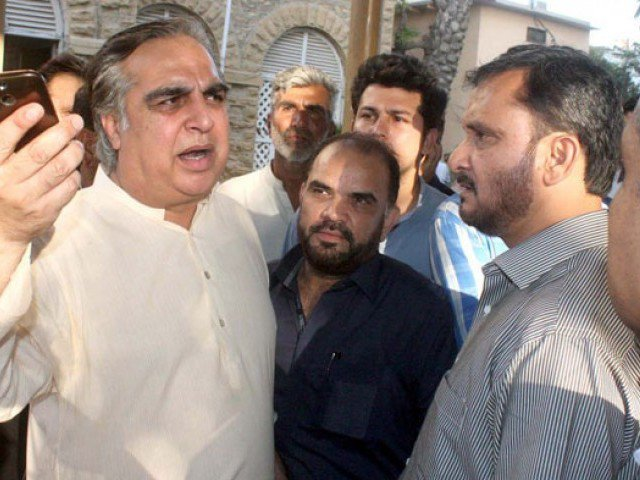 pti leader imran ismail photo ppi