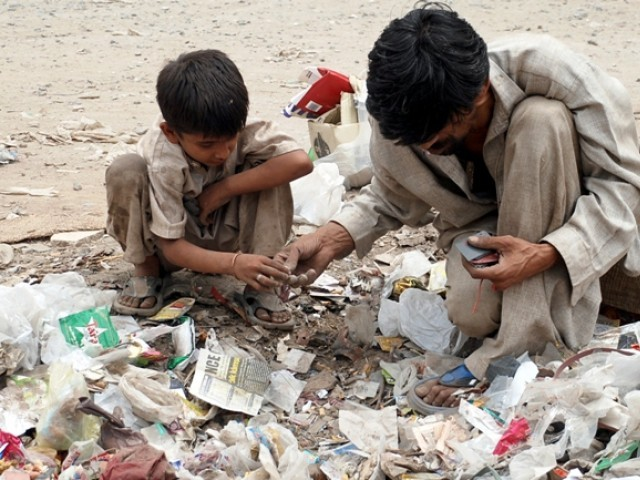 government changes calculation methodology classifies 59 million as poor photo israr ul haq