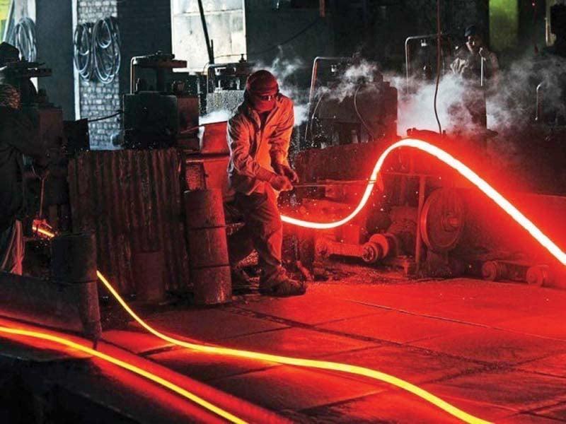 steel sector records uptick in demand