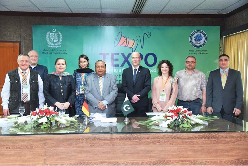 texpo 2016 every step being taken to enhance exports says dastgir
