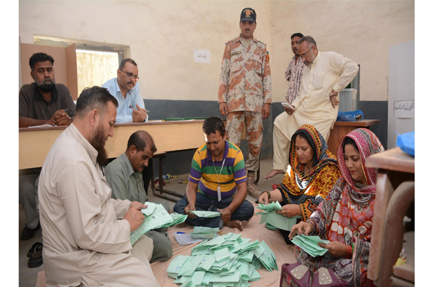 mqm s rehan hashmi had secured the seat with 115 776 votes defeating the runner up pti candidate with a margin of 60 839 votes photo express