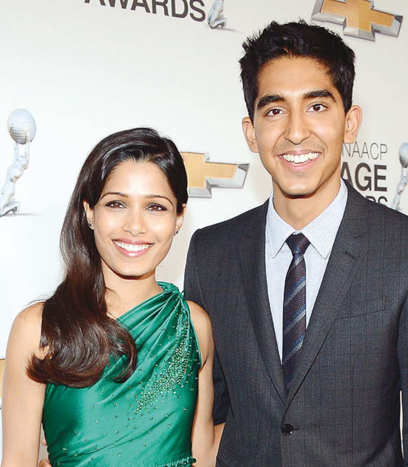 patel was previously dating freido pinto photo file
