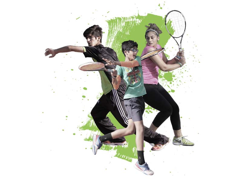young guns the future of tennis in pakistan