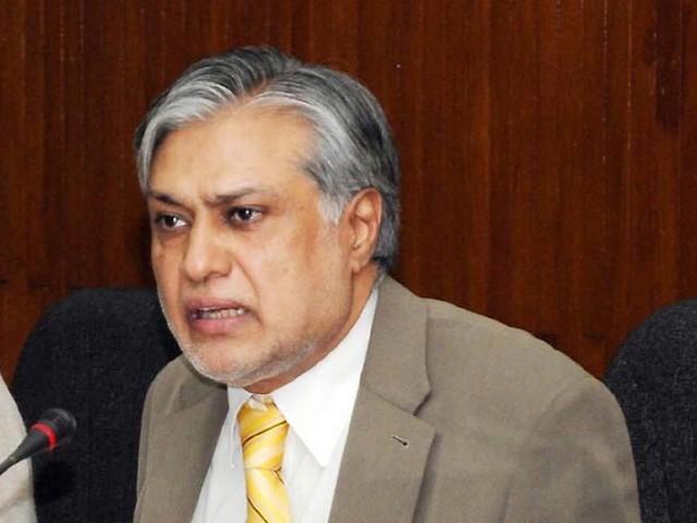 a file photo of finance minister ishaq dar photo inp