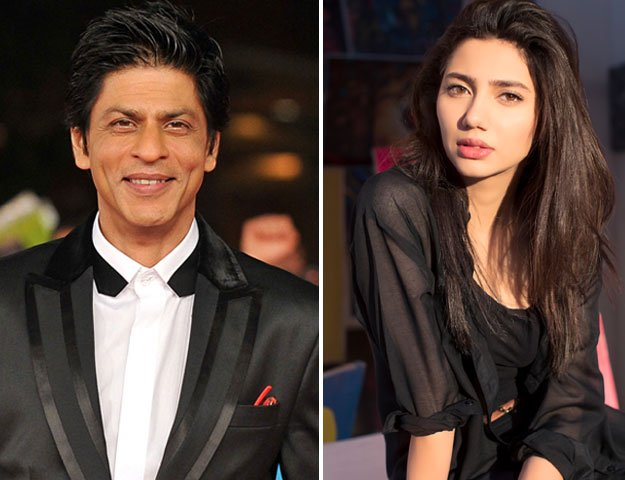 find out what mahira got srk from pakistan photo file