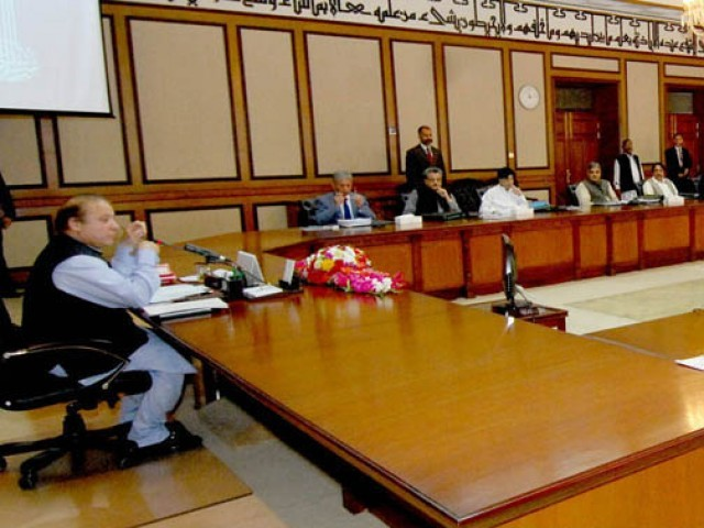 prime minister nawaz sharif chairing the meeting of federal cabinet at the pm 039 s office photo pid
