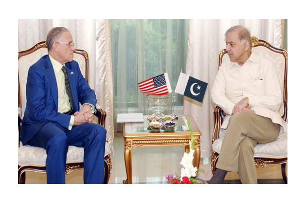 us exim bank president fred p hochberg called on cm punjab photo inp