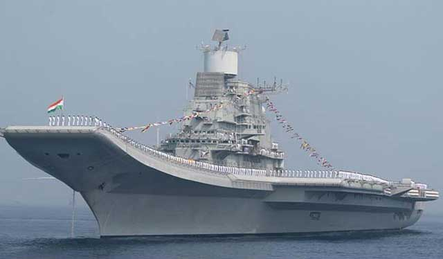 india 039 s biggest warship ins vikramaditya is participating in the international fleet review photo ndtv