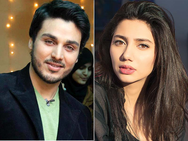 ahsan khan heaped praise over raees actor mahira khan for making strides in india photo file